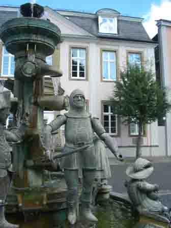 Der Bürgerbrunnen in Lippstadt © Stadt Lippstadt
