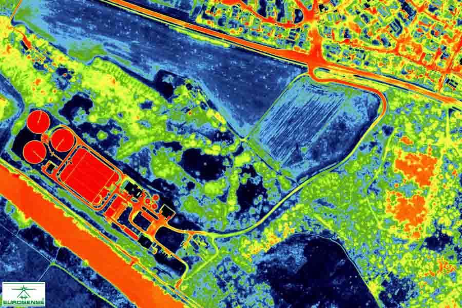 Kostenlose Wärmebilder für den Klimaschutz | Copyright: Eurosense