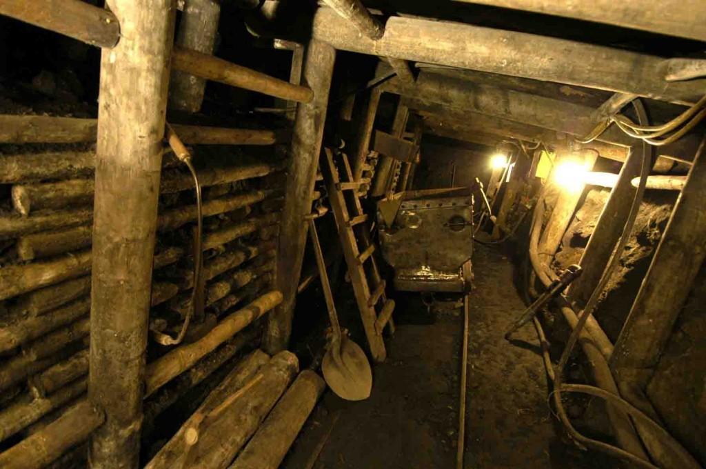 Blick in den Nachtigallstollen im LWL-Industriemuseum Zeche Nachtigall. Foto: LWL/Hudemann