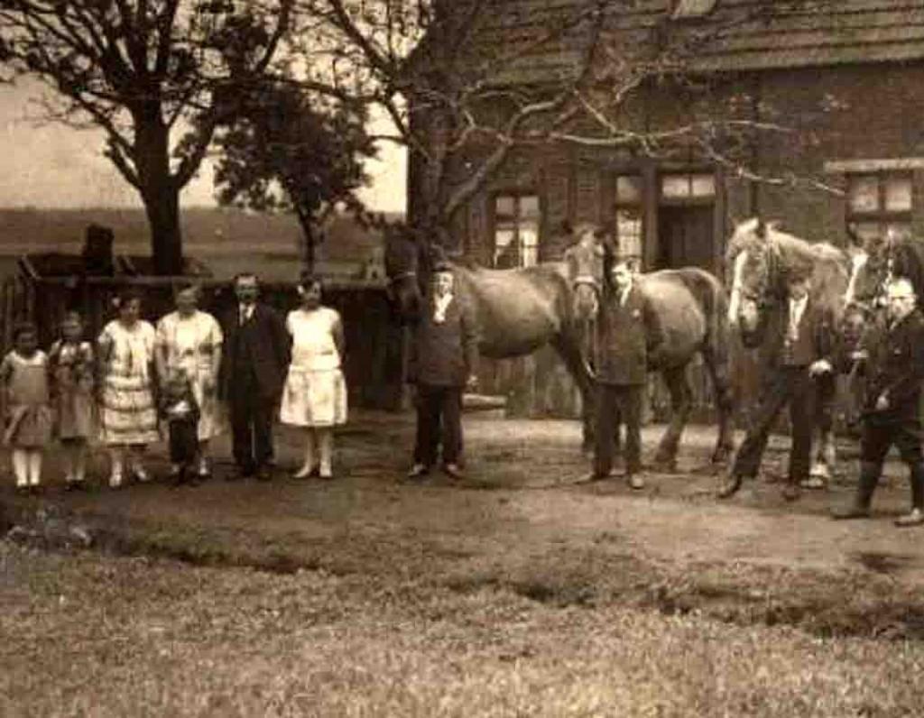 Familie Karl Somplatzki Ende der 1930er Jahre. Foto: Somplatzki