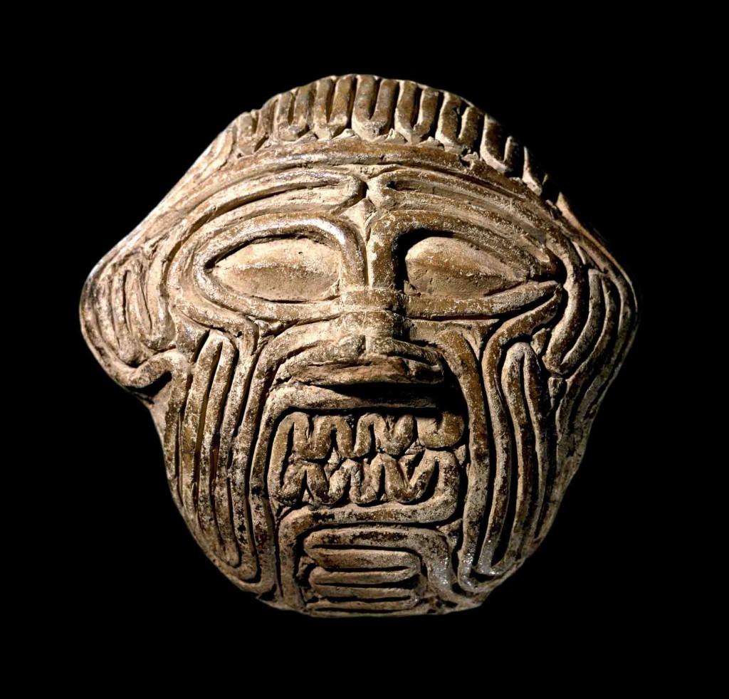 Maske des Humbaba aus Sippar. Altbabylonisch, 18./17. Jh. V. Chr., gebrannter Ton. London, British Museum. © The Trustees of the British Museum