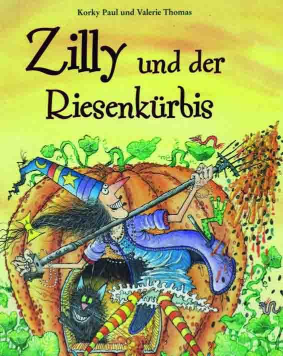 """Aus dem Buch """"Geschichten mit Zilly, der Zauberin"""" der Autoren Korky Paul und Valerie Thomas wird im LWL-Planetarium gelesen. Foto: Paul+Thomas"""