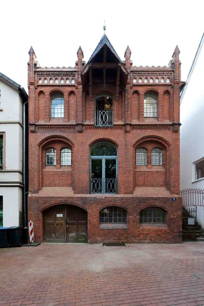Das sanierte und zu Wohnzwecken umgenutzte neogotische Lagerhaus in der Mindener Oberstadt. Foto: LWL/Dülberg