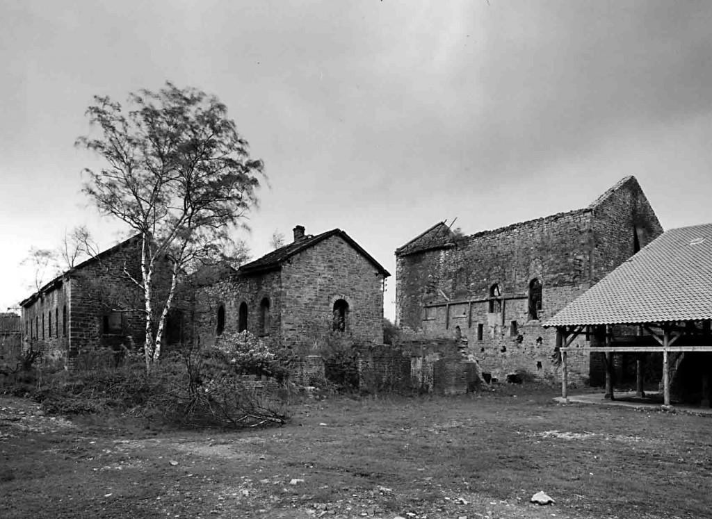 Verfallene Gebäude der Zeche Nachtigall um 1970. Foto: LWL