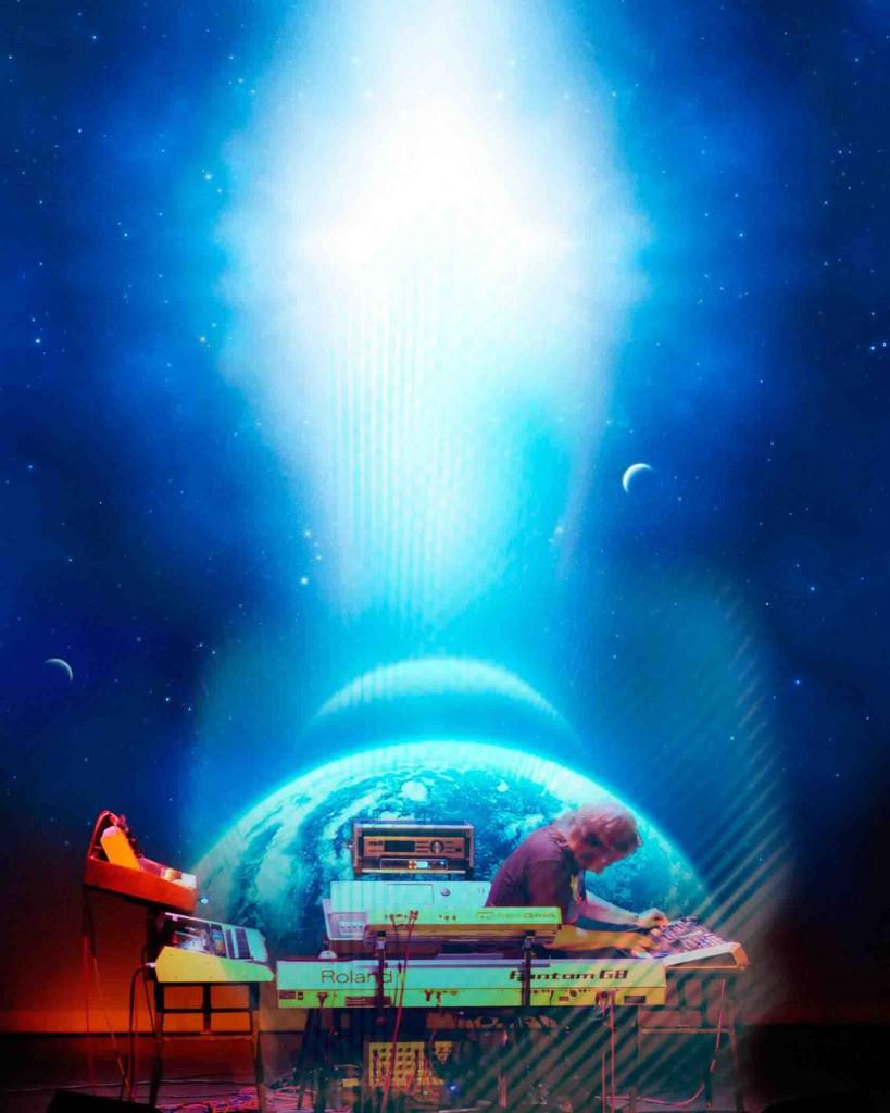 Kistenmacher stellt sein neues Album UTOPIA im LWL-Planetarium Münster vor. Foto: artwork