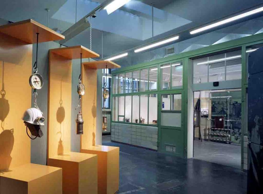 Historische Lampenstube der Zeche Zollern. Foto: LWL