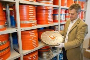 Im LWL-Archiv können die historischen Filme unter optimalen Bedingungen gelagert werden. Foto: LWL