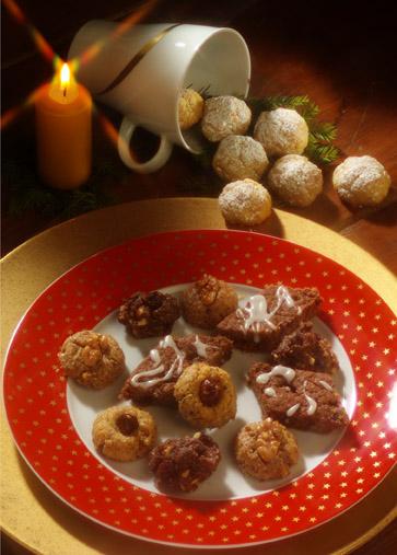 Weihnachtsrezepte: Cholesterinarmes Adventsgebäck Foto: www.weihnachtsmenue.de