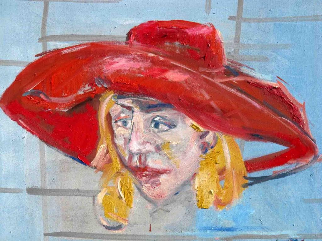 Zillys Portraitserie führt vor, dass Malerei mit wenigen Strichen darstellen kann, was eine Persönlichkeit kenn- und auszeichnet. Foto: Stadt Herten