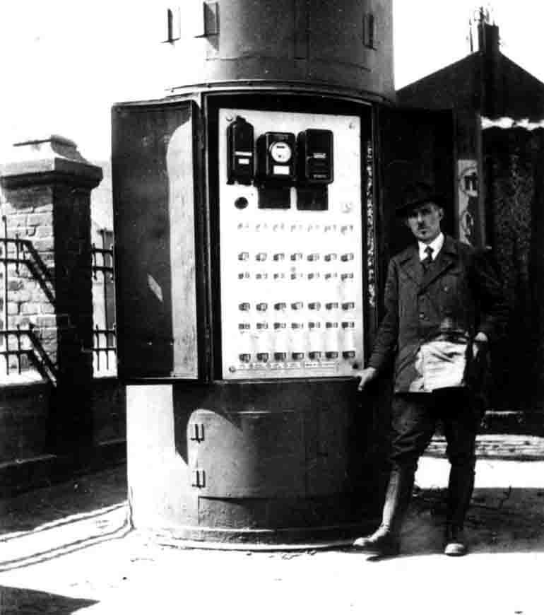 Vor 100 Jahren wurden die ersten Hertener Haushalte an die Stromversorgung angeschlossen. © Hertener Stadtwerke