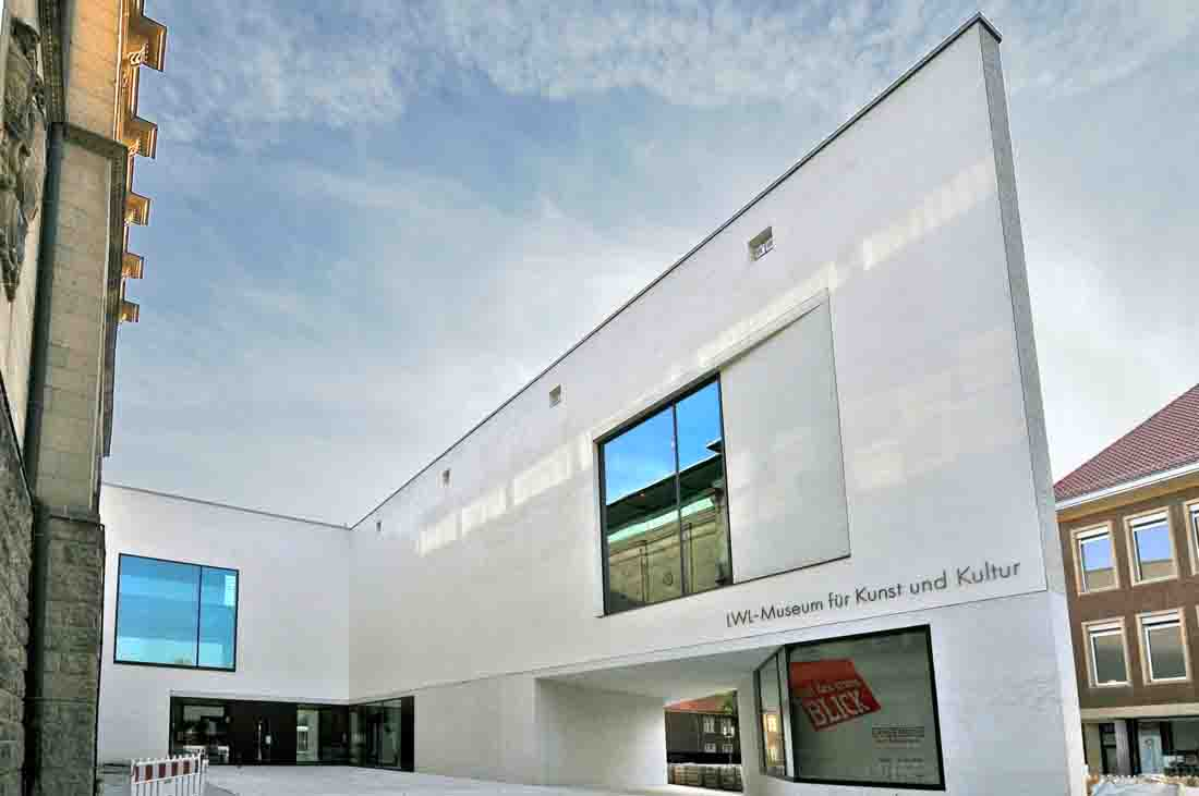 Ab September auch freier Eintritt mit den Jahreskarten von LVR und LWL im neuen LWL-Museum für Kunst und Kultur in Münster. Foto: LWL