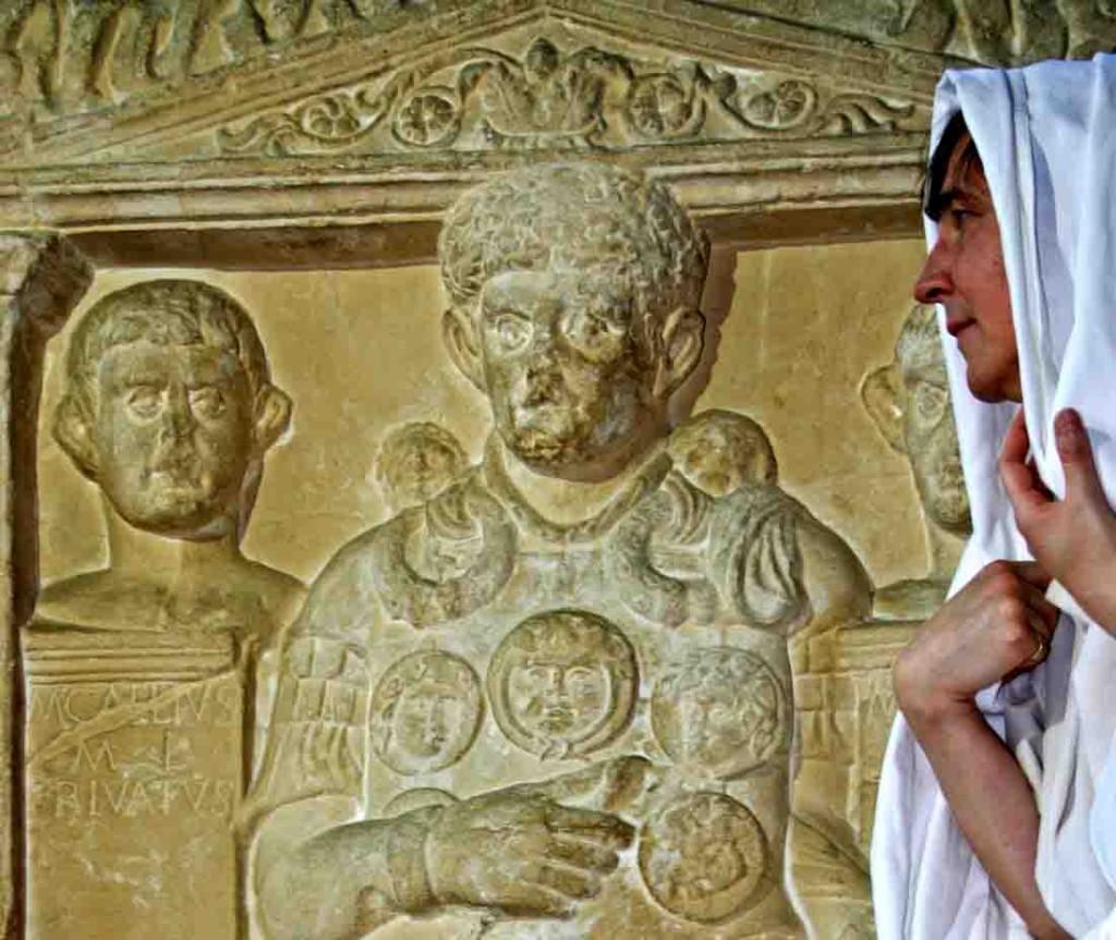 Marcus Caelius - Besuch aus dem Reich der Toten. Foto: LWL/Runkel