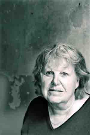 Die Autorin J. Monika Walther ist eine der bekanntesten deutschen Hörspielautorinnen. Foto: Barbara Dietl, Berlin