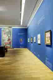 Blick in den Macke-Raum im neu eröffneten LWL-Museum. Foto: LWL/Neander
