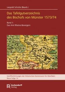 Die vom LWL getragene Historische Kommission für Westfalen hat jetzt die Edition eines Abgabenbuches aus dem 16. Jahrhundert herausgegeben. Foto: LWL